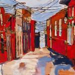"Oil on canvas / 36""x60"" / 2013"