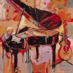"Oil on canvas / 48""x48"" / 2012"