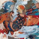 "A Sense Of/ Oil on canvas/ 48""x48""/ 2015"